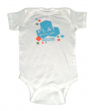 """Play With Me"" Brain Under Construction Onesie"