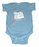 """Read To Me"" Brain Under Construction Onesie"