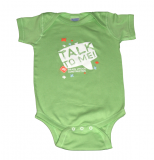 """Talk to Me"" Brain Under Construction Onesie"