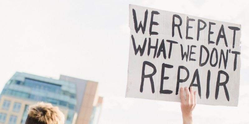 """We repeat what we don't repair"""
