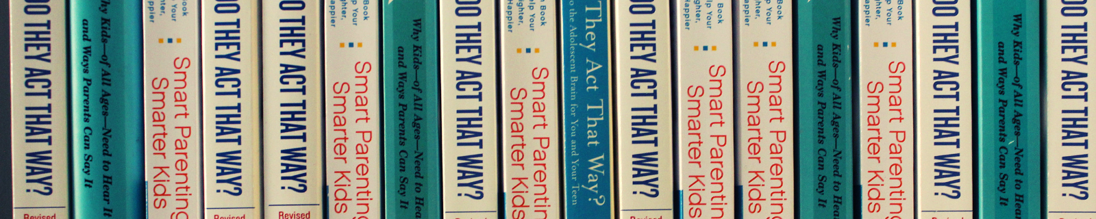 Dr. David Walsh books on bookshelf including Why Do They Act That Way