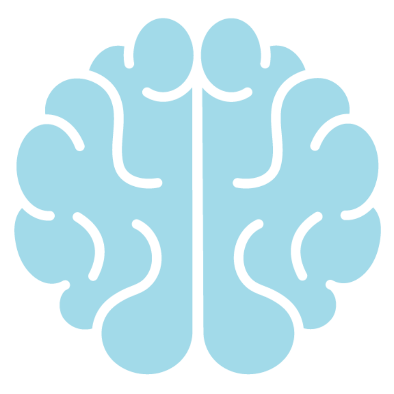 Brain icon from Spark & Stitch logo