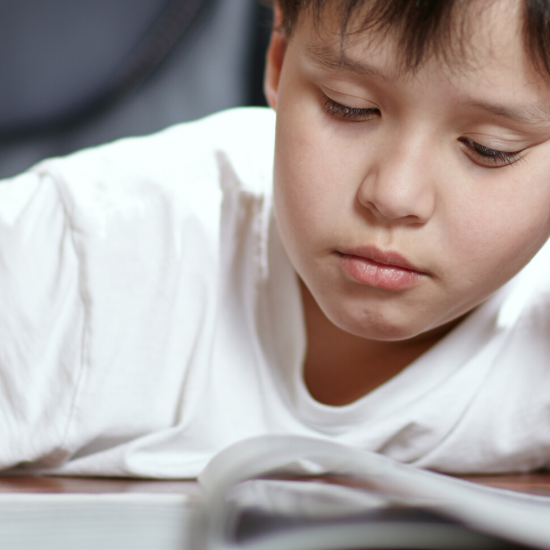 Child not motivated to start distance learning work.
