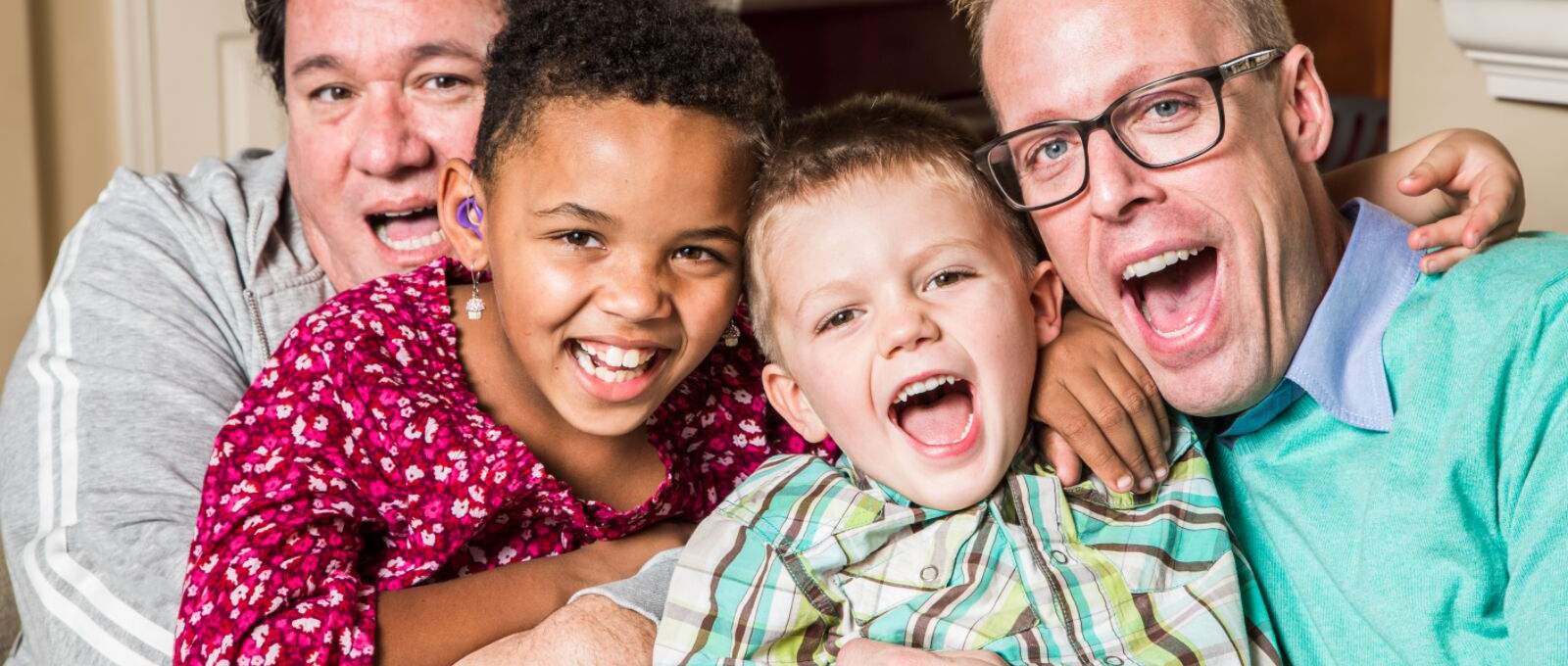 Dads spending time creating emotional memories with their kids